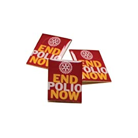 End Polio Now Pins (Set of 100)