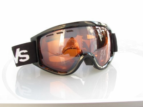 Ravs Snowboardbrille Skibrille Goggle Kontrastverstärkt Helmkompatibel Antifog Doppelscheibe