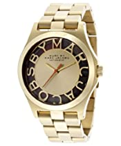 Marc Jacobs Henry Gold Skeleton Automatic Limited Edition Watch 1 of 1000 - MBM9701