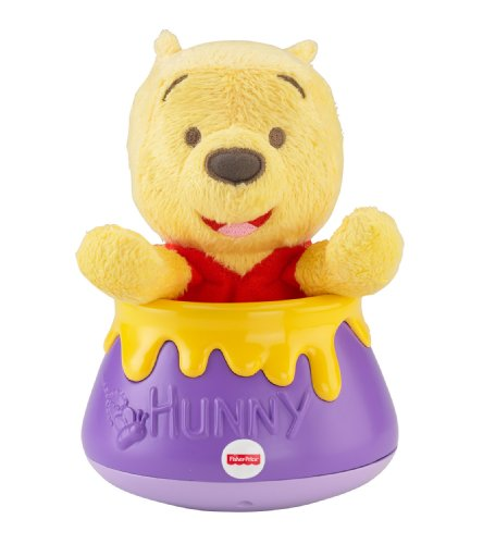 Fisher-Price Disney Baby Roly Poly Peek-a-Pooh, Winnie The Pooh (Discontinued by Manufacturer)