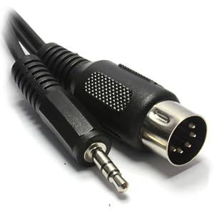 MIDI 5 Broches DIN Fiche Vers 5 Broches DIN Fiche câble 3 m Prix conseillé