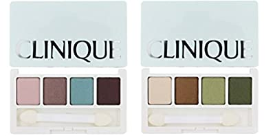 Clinique All About Shadow Quad - Eyeshadow Palette - Travel Size/0.8oz/2g