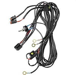 polaris 2878770 led lightbar harness with two connectors automotive