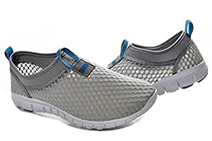 Men & Women Breathable Running Shoes,beach Aqua,Outdoor,Water,Rainy,Exercise,Climbing,Dancing,Drive (Size36 Blue)