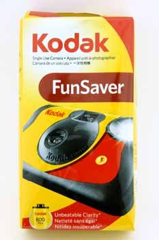 Kodak One-Time-Use Camera  Flash Case Pack 10