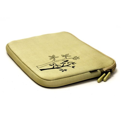 Fashion Netbook Neoprene Sleeve Case (Vintage Sketch Trees) to Protect the HP Mini 110 10.1 Fashion Netbook Neoprene Sleeve Case - Vintage Sketch Trees