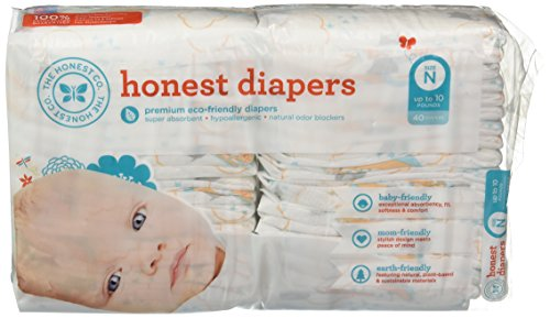 The Honest Company Diapers (Newborn, Balloon Print) 40 Count