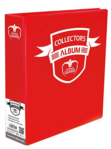 "3"" Red Binder Collectors Album - 1"