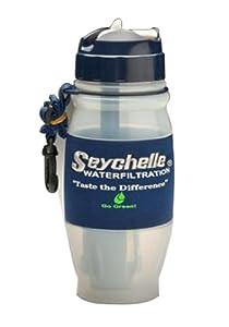 Seychelle 1-10303-28-HI-FC-SEY 28-Inch Flip Top Filter Bottle, Advanced by Seychelle