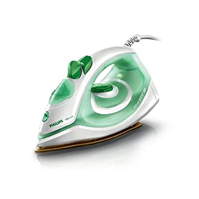 Philips GC1980 1750-Watt Nonstick Soleplate Steam Iron with Spray, Coating and Anti-Calc