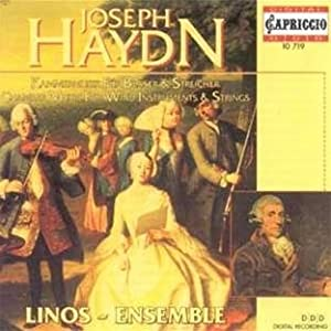 Haydn - Chamber Music for Wind and Strings from Capriccio