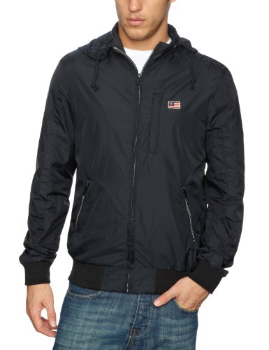 Wrangler Nylon Men's Jacket Pirate Black XXX-Large
