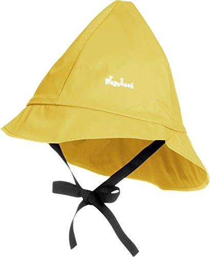 Playshoes - 408951 Regenmütze Mit Baumwoll-Futter, Cappello per bambini, Giallo (Gelb (12 gelb)), Taglia produttore: 51