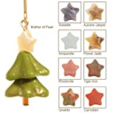 Merry Christmas Tree 14 Kt Goldfilled Earrings Color: Autumn Jasper