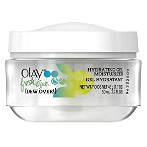 Olay Fresh Effects Dew Over Hydrating Gel Moisturizer, 1.7 Fluid Ounce