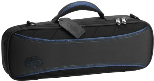 Reunion Blues Continental Trumpet Case with Ballistic Quadraweave Black Exterior Quilted