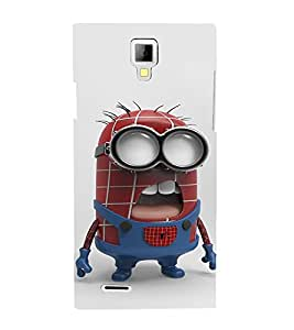 EPICCASE Superhero Minion Mobile Back Case Cover For Micromax Canvas Xpress A99 (Designer Case)