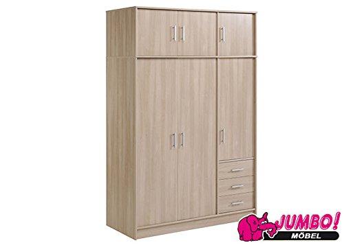 Jumbo-Möbel Kleiderschrank ESSENTIAL in Bruges, B: 130 cm günstig bestellen