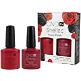 CND SHELLAC PERFECT PAIR DUO PACK - RUBY RITZ SHELLAC AND WILDFIRE SHELLAC - 2 X 7.3ML