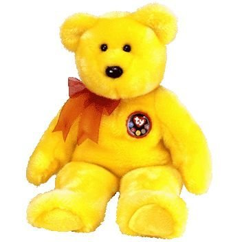 TY Beanie Buddy - TRADEE the Bear (13 inch - Internet Exclusive) - 1