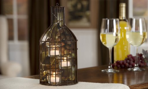Giftcraft Wine Bottle Candle Holder