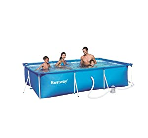 Bestway splash junior piscine hors sol avec pompe for Piscine hors sol tubulaire amazon