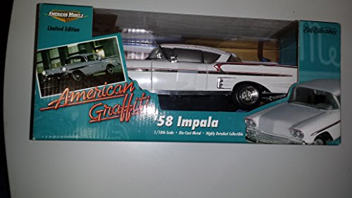 #32079 Ertl American Graffiti '58 Impala 1/18 Scale Diecast (American Graffiti Diecast Cars compare prices)