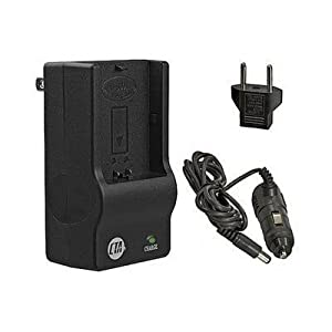 Canon PowerShot SD870 IS SD850 IS - Replacement Battery Charger (Including Car and European Plug Adapters)