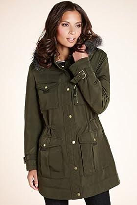 Autograph Faux Fur Hooded Stormwear™ Parka