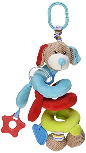 Bigjigs Baby Bruno Spiral Cot Rattle - 1