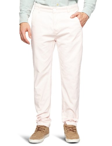 Bellfield MTRS-11178SP Slim Men's Trousers Soft Pink W36 INxL32 IN