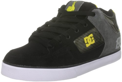 DC Shoes Men's Radar Slim Tp Black Yellow Lace Up D0303195 10 UK, 44.5 EU, 11 US