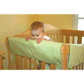 Trend-Lab Crib Wrap Rail Guard Set of Two Short Rail Guards