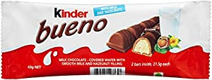 Kinder Bueno, CASE, 43 g x 30 bars, chocolate bueno