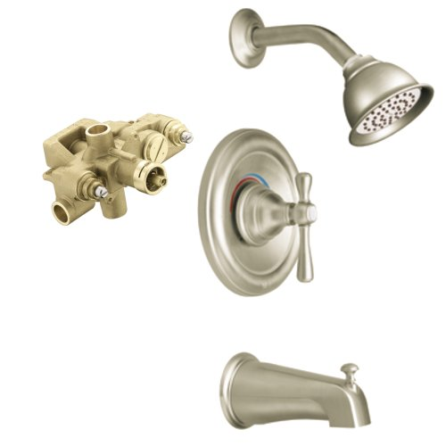 moen t3113bn 3570 kingsley moentrol tub and shower trim kit with