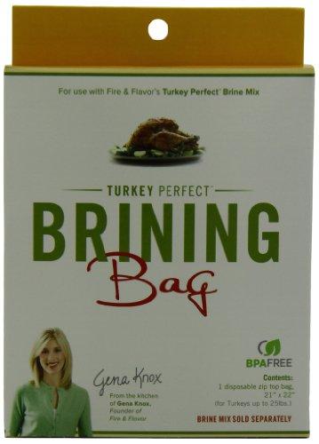 Fire & Flavor Turkey Brine Bag, 1-Count Bag (Pack of 6)