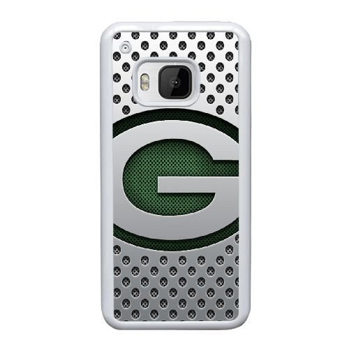 HTC One M9 Cell PHone Case White Green Bay Packers JH5BI7649608 by Public
