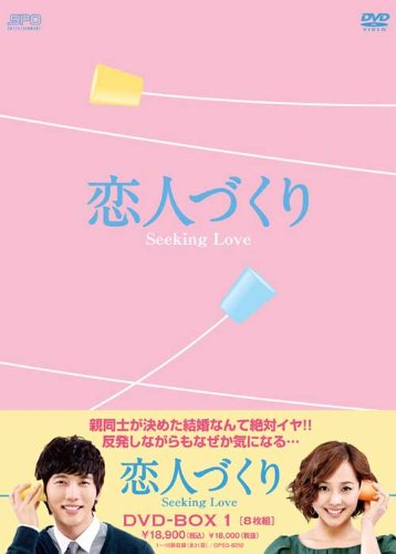 恋人づくり~Seeking Love~ DVD-BOX1