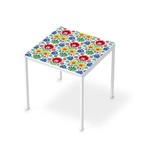 designfolie f r ikea melltorp tisch 75x75 cm deko m bel. Black Bedroom Furniture Sets. Home Design Ideas