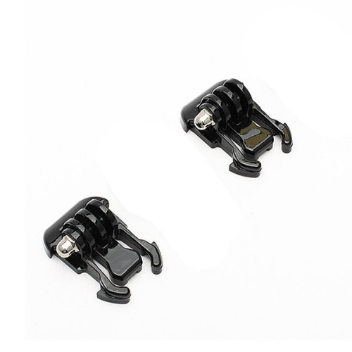 Neewer® 2x Black Buckle Basic Strap Mount Clips For Gopro Hero 1 / 2 / 3 / 3+ / 4 Camera