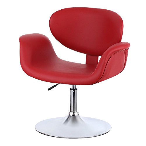 ikayaa design rollhocker arbeitshocker kosmetikhocker mit lehne m belrado. Black Bedroom Furniture Sets. Home Design Ideas