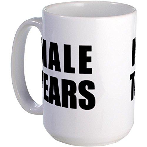 Cafepress Male Tears Large Mug Mugs - Standard Multi-Color