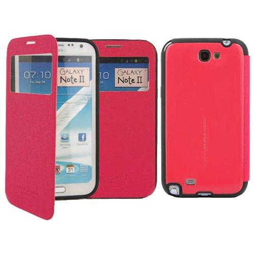 Galaxy S4 ケース Arium French Bumper View Case ギャラクシー S4 バンパー ビュー フリップ ケース ホットピンク(Hot Pink) / SC-04E 携帯 スマホ スマートフォン モバイル ケース カバー ダイアリー 手帳型 ケース カード 収納 ポケット スロット