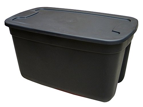 Edge 2030-0506 Tote (Set of 6), 30 gal, Black (Storage Totes 30 Gallon compare prices)