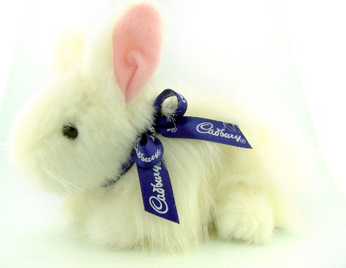 Unique Easter Gift Clucking White Fur Cadbury