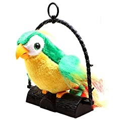 Talk Back Parrot Battery Operated Toy (Assorted Color)
