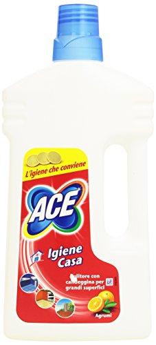 Ace - Igiene Casa, Pulitore Con Candeggina Per Grandi Superfici , 1 L