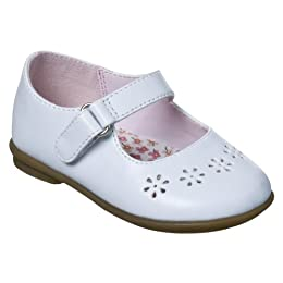 Product Image Pre-Walk Girls' Circo® Ailee Mary Jane Dress Shoes - White