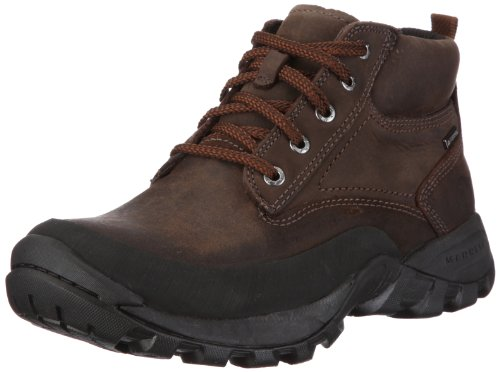 Merrell ARLBERG WATERPROOF J15347, Stivaletti uomo, Marrone (Braun/DARK EARTH), 42