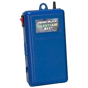 Penn-Plax Silent Air B11 Battery Operated Air Pump